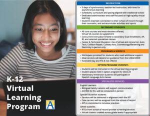K-12 Virtual Learning Program